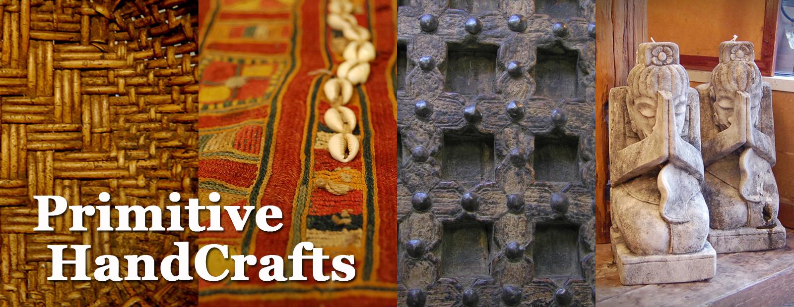 プリミティブ エスニック トライバル インテリア 手作り 民族的 木彫 手刺繍 石彫